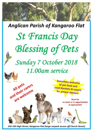 St Francis Day Poster 2018