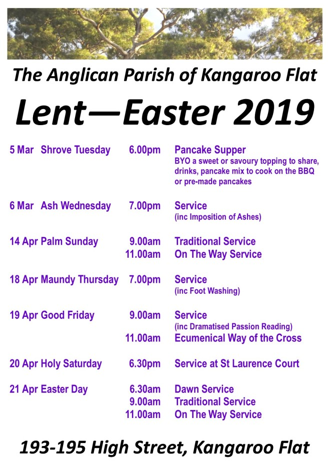 2019 Lent Easter A4
