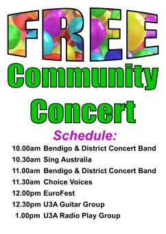 2019 Concert Schedule