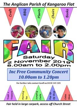 2019 Fair Poster